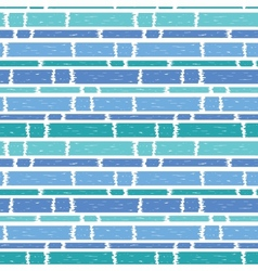 Blue paint horizontal stripes seamless pattern vector