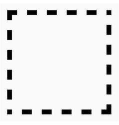 Border icon vector