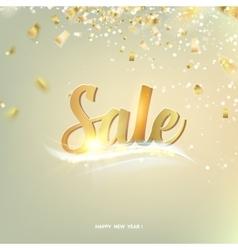 Happy Sale card vector