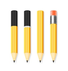 pencil set vector image