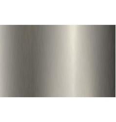 Silver metallic gradient with scratches titan vector