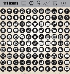 Web design icons set eps 10 vector