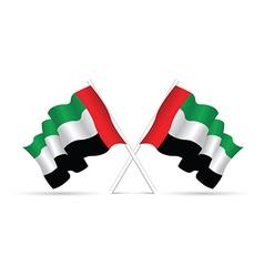 uae flag vector image
