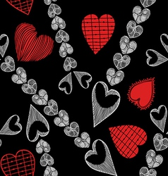 Valentine Day and Love theme background vector image vector image