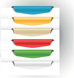 bookmark vector image vector image