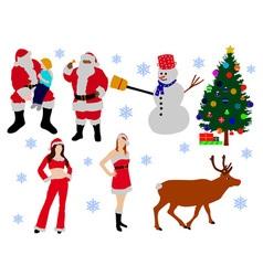 cristmas vs vector image