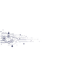 Abstract human connections headline background vector