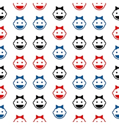 Baby symbol seamless pattern vector image