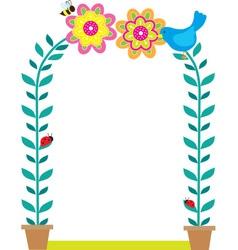 Bird Border vector image