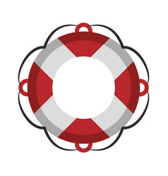 Float navigation lifesaver vector