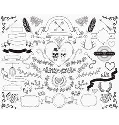 Hand-Drawn Doodle Design Elements vector