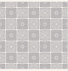 Seamless pattern hand drawn square tile vector
