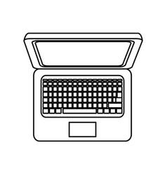 pc laptop technology vector image