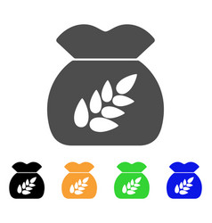grain harvest icon vector image