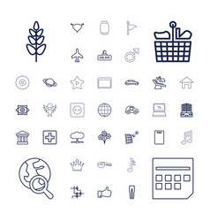 37 element icons vector