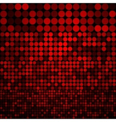Abstract dark red circles seamless pattern vector