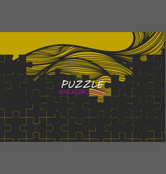 Abstract puzzle concepts vector
