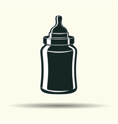 baby bottle sign vector image