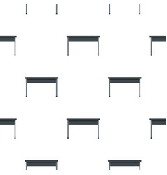 Black desk pattern flat vector