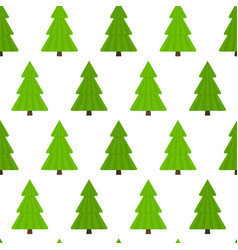 fir-tree seamless pattern vector image