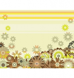floral design vector image