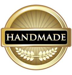 Handmade Gold Label vector