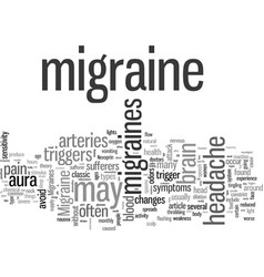 Is this a migraine headache vector