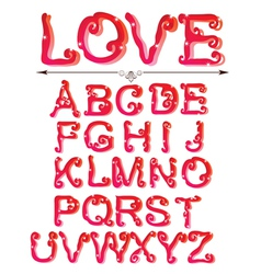 Love abc vector