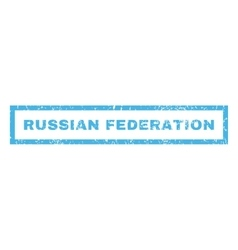 Russian Federation Rubber Stamp vector image