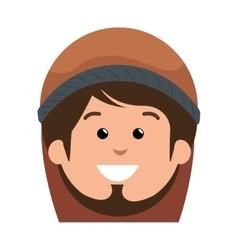 saint joseph manger character vector image