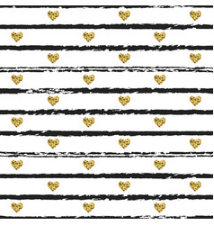 seamless pattern with hand drawn ink lines and vector image