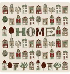 Small homes vector image