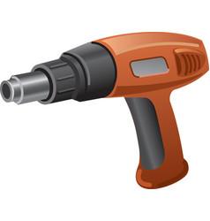 heat gun vector image