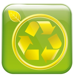 app icon and pictogram resycling vector image vector image