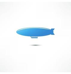 Airship Icon vector image