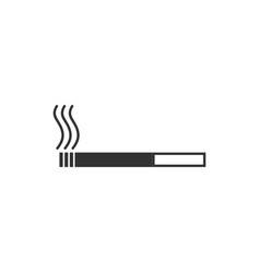 cigarette icon flat vector image