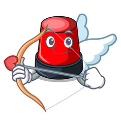 cupid sirine character cartoon style vector image