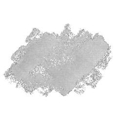 halftone abstract blob vector image