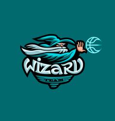 mascot basketball team vector image
