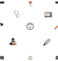 Medical Gadgets Flat Pattern vector