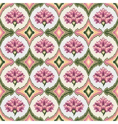 pastel floral patterns vector image