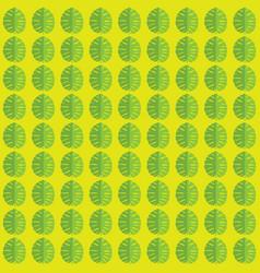 tropical leaf pattern vector image