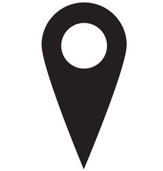Map Pointer vector image vector image