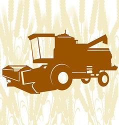 Combine Harvester 4 vector
