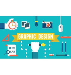 Concept of equipment for design vector