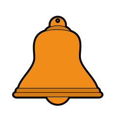 Isolated bell icon image vector