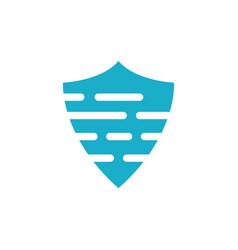 Sheild logo template vector