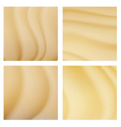 Tropical desert dunes background vector