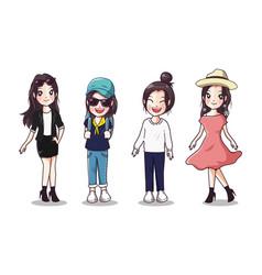 women style vector image