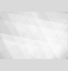 triangle shape white and gray geometric is vector image